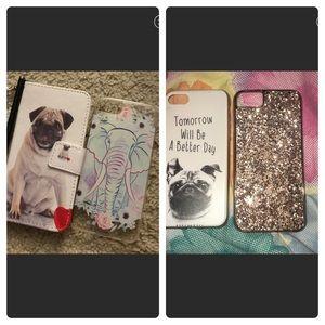 Accessories - iPhone 7 case bundle